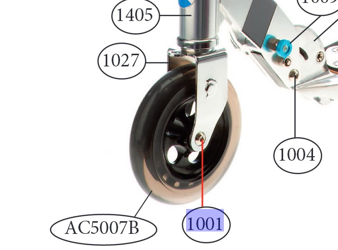 Micro - essieu avant 40 mm