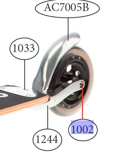 Micro - Essieu arrière 52mm
