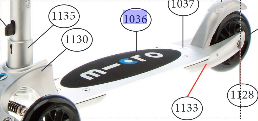Micro - Pont avec grip (1036)