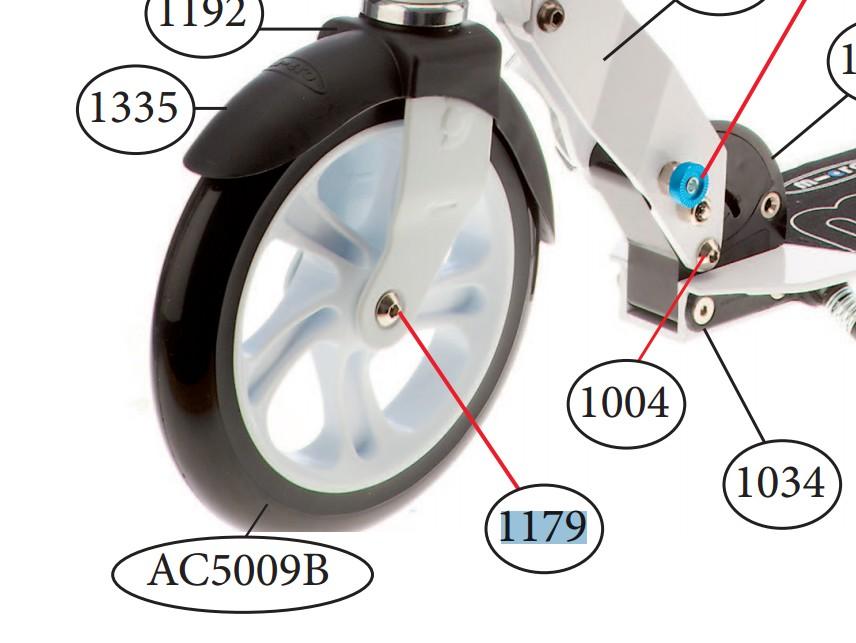 Micro - Essieu arrière 43mm