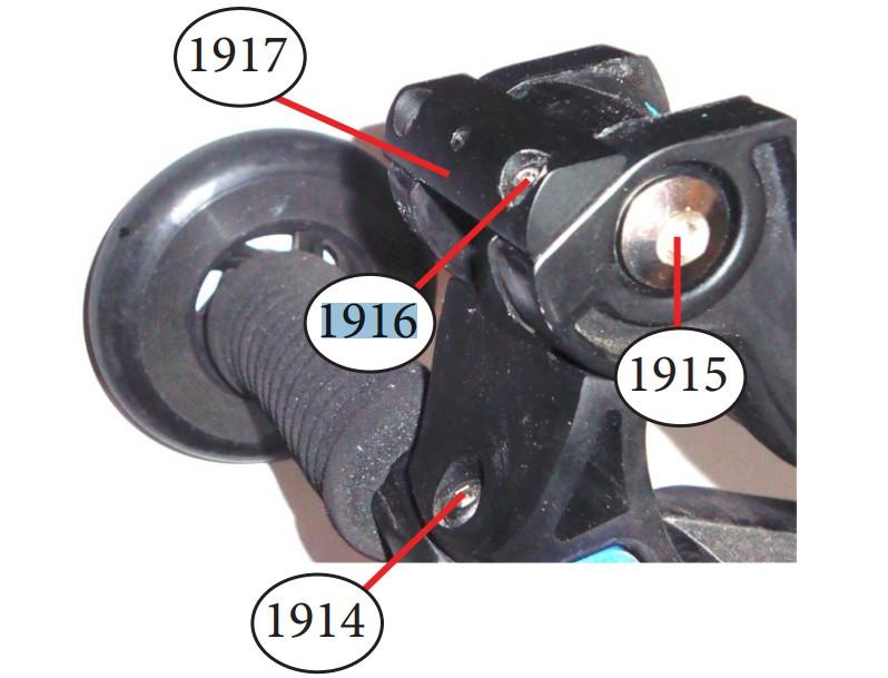 Micro - Essieu de rondelle d'arrêt (1916)