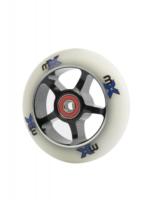 Micro- roue de 100mm noir /