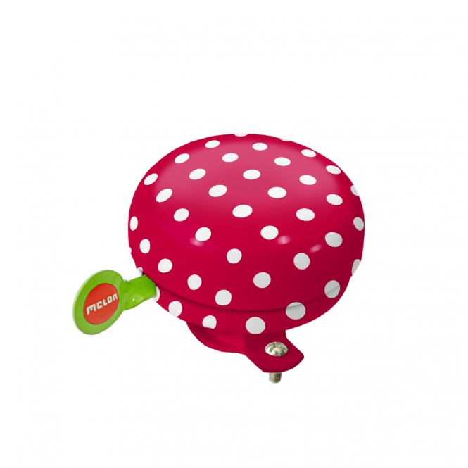Melon- Clochette Rouge pois